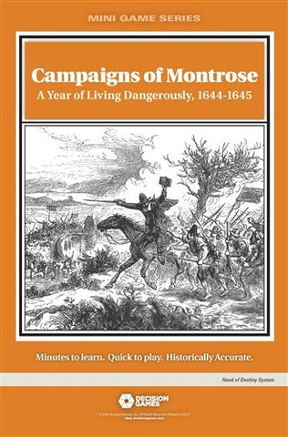 Mini Game Series: Campaigns of Montrose: A Year of Living Dangerously, 1644-1645
