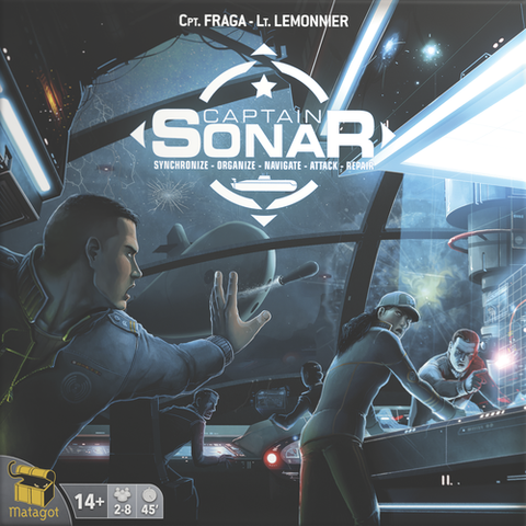 Captain Sonar - Leisure Games