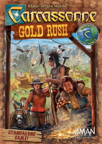 Carcassonne: Gold Rush - Leisure Games