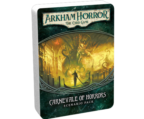 Arkham Horror The Card Game: Carnevale of Horrors Scenario Pack - Leisure Games