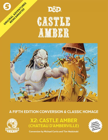 Original Adventures Reincarnated #5: Castle Amber (5E Adventure, Hardback)
