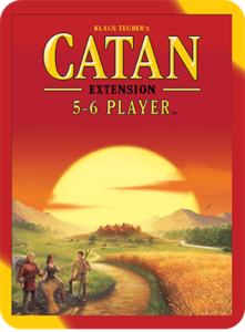 Catan: 5-6 Player Extension  (2015 refresh) - Leisure Games