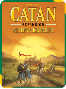 Catan: Cities & Knights (2015 refresh) - Leisure Games