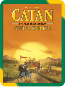Catan: Cities & Knights 5-6 Player Extension (2015 refresh) - Leisure Games
