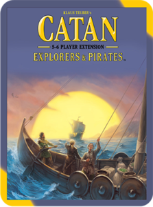 Catan: Explorers & Pirates 5-6 Player Extension (2015 refresh) - Leisure Games
