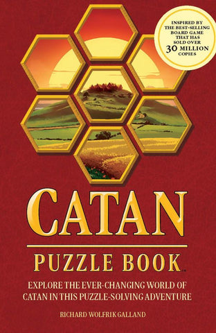 Catan Puzzle Book (expected in stock on 8th December)