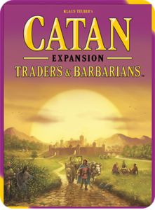 Catan: Traders & Barbarians (2015 refresh) - Leisure Games