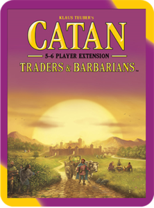 Catan: Traders & Barbarians 5-6 Player Extension (2015 refresh) - Leisure Games