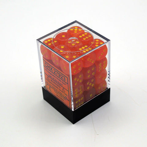 CHX27923 Ghostly Glow Orange with Yellow 36 x 12mm D6 Set