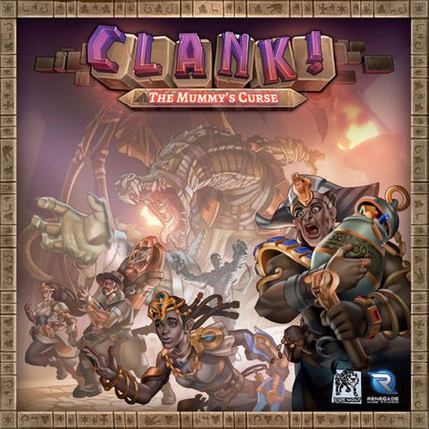 Clank! The Mummy's Curse expansion - Leisure Games