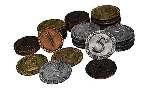 Clans of Caledonia Metal Coin Set - Leisure Games
