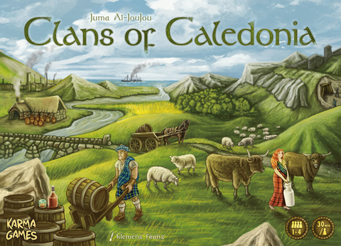 Clans of Caledonia - Leisure Games