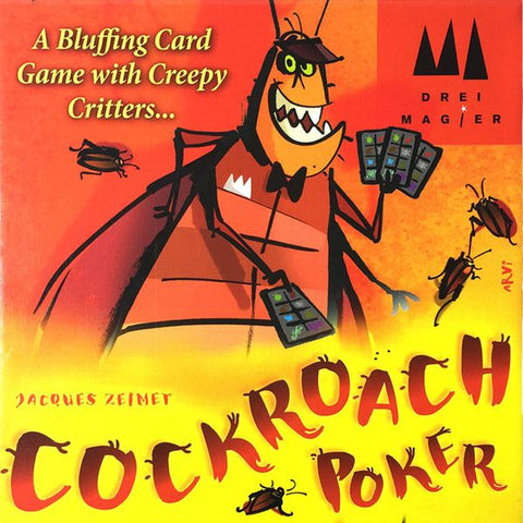 Cockroach Poker (Kaker Laken Poker) - Leisure Games