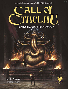 Call of Cthulhu 7th Edition: Investigator's Handbook + complimentary PDF - Leisure Games