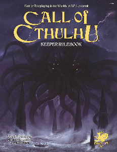 Call of Cthulhu 7th Edition Keeper Rulebook + complimentary PDF - Leisure Games