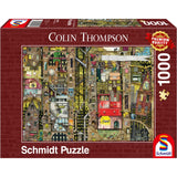 Jigsaw: Colin Thompson - Fantastic Cityscape (1000pc)