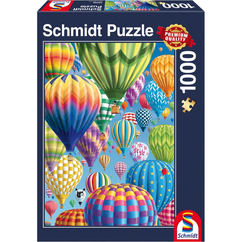 Jigsaw: Colourful Balloons in the Sky (1000pc)
