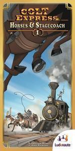 Colt Express: Horses & Stagecoach - Leisure Games