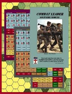 Combat Leader: Solitaire Module - Leisure Games