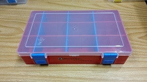 Component Box (large - RED) - Leisure Games