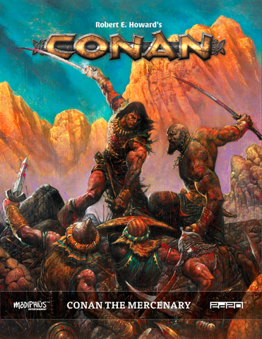 Conan RPG: Conan the Mercenary + complimentary PDF - Leisure Games