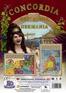 Concordia: Brittania & Germania - Leisure Games