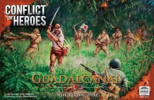 Conflict of Heroes: Guadalcanal - The Pacific 1942 - Leisure Games