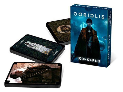 Coriolis RPG Icon Card Deck - Leisure Games