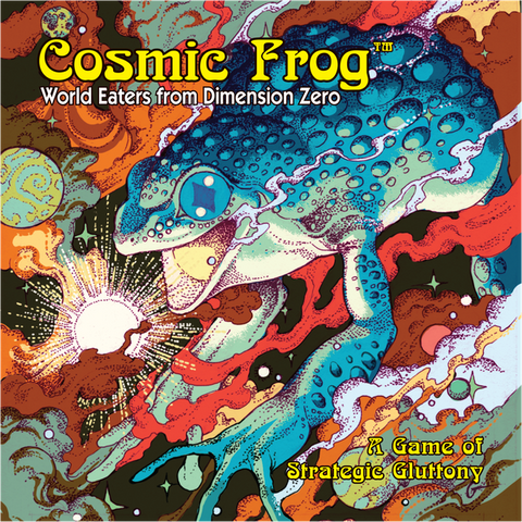 Cosmic Frog (pre-order, expected Q4 2020)