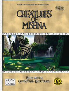 Advanced Fighting Fantasy: Creatures of Mishna + complimentary PDF