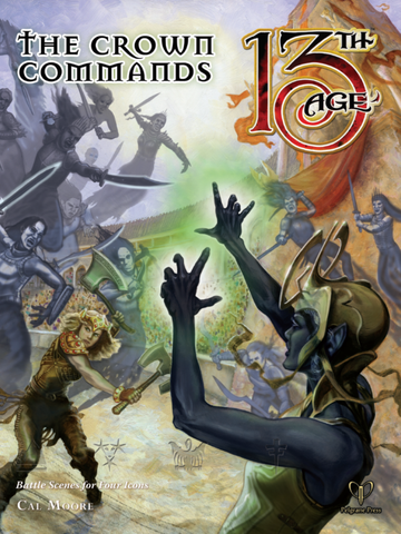 13th Age: The Crown Commands - Leisure Games