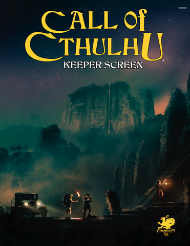 Call of Cthulhu 7th Edition: Keeper's Screen Pack + complimentary PDF - Leisure Games