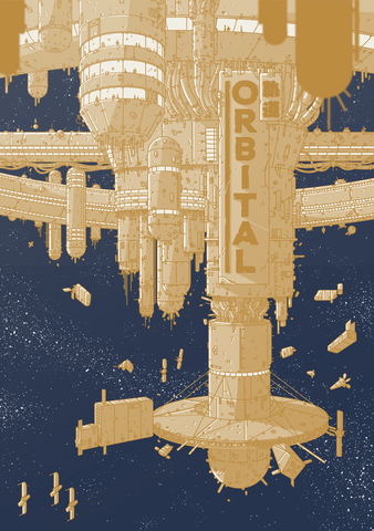 Orbital + complimentary PDF and soundtrack (via online store)