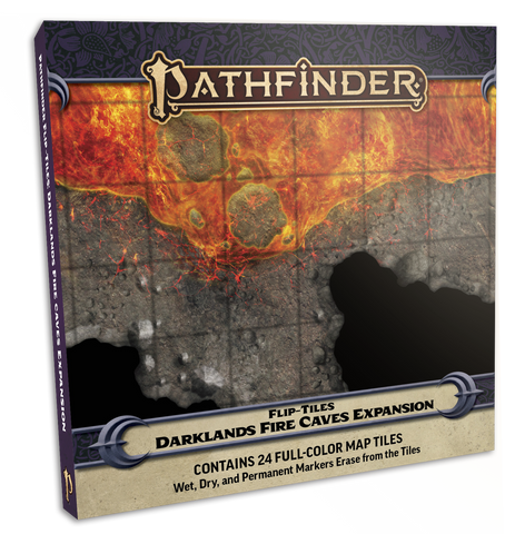 Pathfinder Flip-Tiles: Darklands Fire Caves Expansion (expected in stock on 27th October)