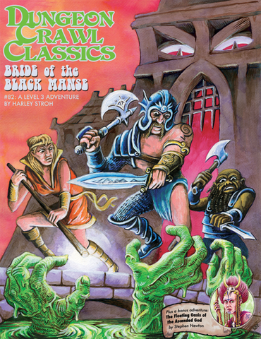 Dungeon Crawl Classics #82 Bride of the Black Manse (2nd Printing)