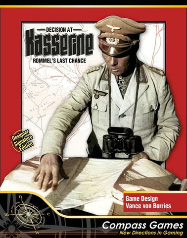 Decision at Kasserine: Rommel's Last Chance - Designer Signature Edition