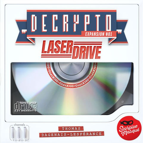 Decrypto: Expansion #01 - Laserdrive