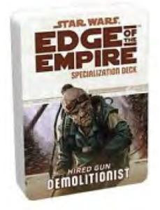 Star Wars Edge of the Empire: Demolitionist Specialization Deck