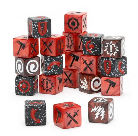 Warhammer Underworlds: Grand Alliance Chaos Dice Pack - pre-order (expected 12 December 2020)