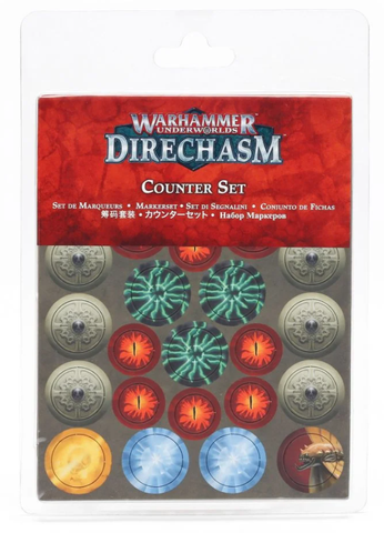 Warhammer Underworlds: Direchasm Counter Set - pre-order (expected 12 December 2020)