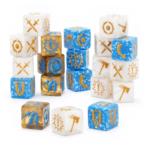 Warhammer Underworlds: Grand Alliance Order Dice Pack - pre-order (expected 12 December 2020)