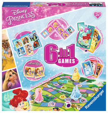 Disney Princess 6-in-1 Games