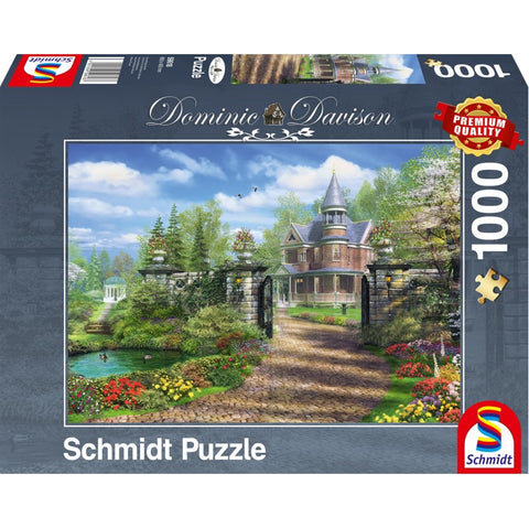 Jigsaw: Dominic Davison - Idyllic Country Estate (1000pc)