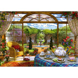 Jigsaw: Dominic Davison - View from the Conservatory (1000pc)