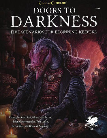 Call of Cthulhu 7th Edition: Doors to Darkness + complimentary PDF - Leisure Games