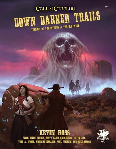 Call of Cthulhu: Down Darker Trails + complimentary PDF - Leisure Games
