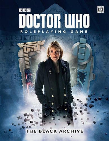 Doctor Who RPG: The Black Archive + complimentary PDF
