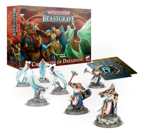 Warhammer Underworlds: Champions Of Dreadfane (expected in stock on 12th December)