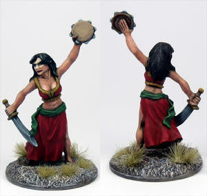 15030 Gypsy Girl with Sword and Tambourine - Leisure Games