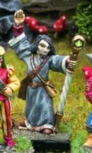 15501d Sorcerer with Staff - Leisure Games